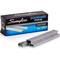 "Swingline Staples, Standard, 1/4"" Length, 210/Strip, 5000/Box, 2 Pack (35107)"