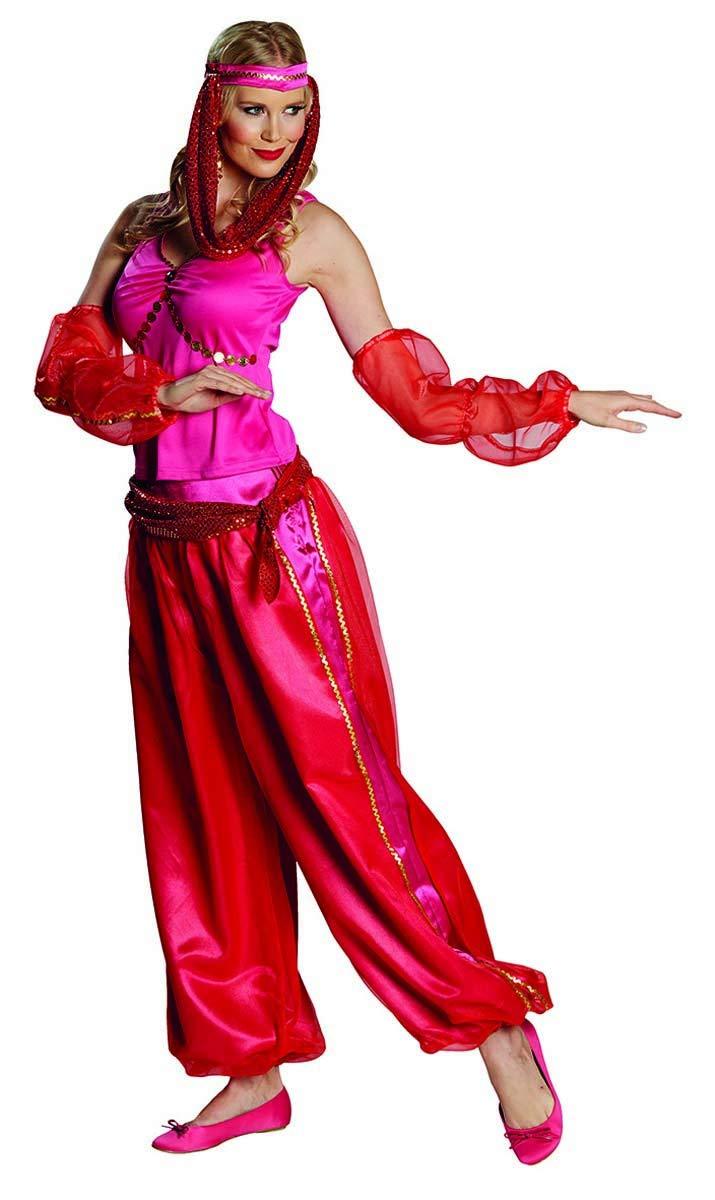 Disfraz oriental árabe de las 1001 noches de bailarina de ...