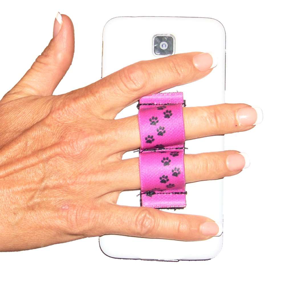 Amazon.com: LAZY-HANDS 2-Loop Phone Grip - FITS MOST - Quilter ...