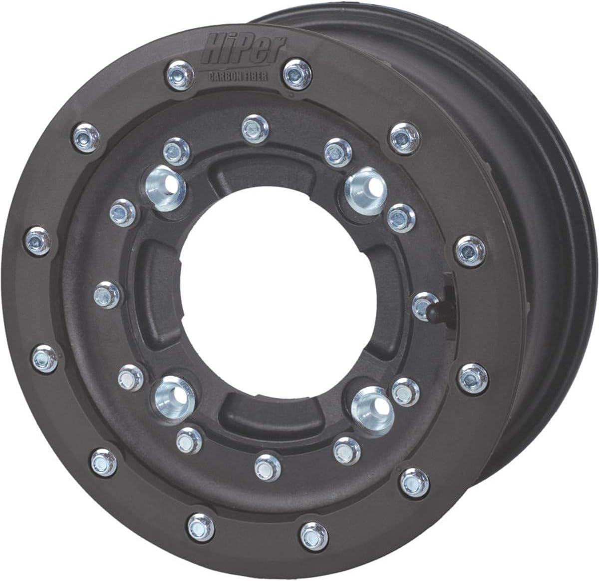 "Hiper Racing CF1 Tech 3 Rear Replacement 8 Inch 8/"" Beadlock Wheel Ring White"