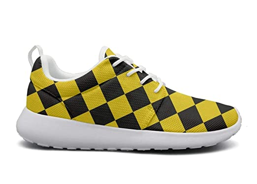 Amazon.com  checkered squares black cute Print women sports Running Shoes  Casual Lightweight Athletic Sneakers  Clothing b58f220ad