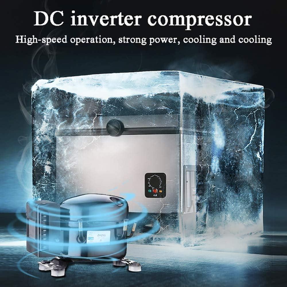 Kompressor Kühlbox Auto Mini Kühlschränke Lkw 24v 12v 220 240v Car Cooler Mini Kühlschrank For Start Auto Spielraum Schlaf Büro Selbstfahrer Tour Dljyy Size 35l Beleuchtung