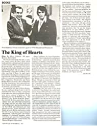 Elvis Presley original 1pg 8x10 clipping magazine photo #S1737