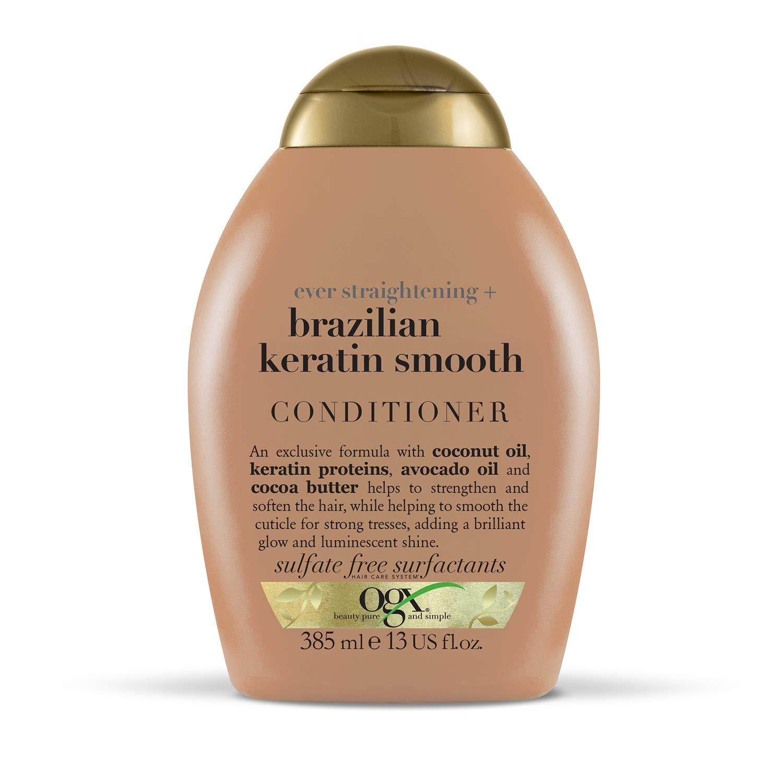 OGX Brazilian Keratin Conditioner for Dry Hair, 385 ml