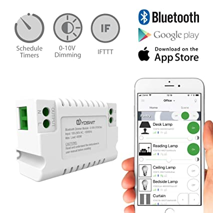 Yoswit Smart Dimmer Module - 0-10V - - Amazon.com on