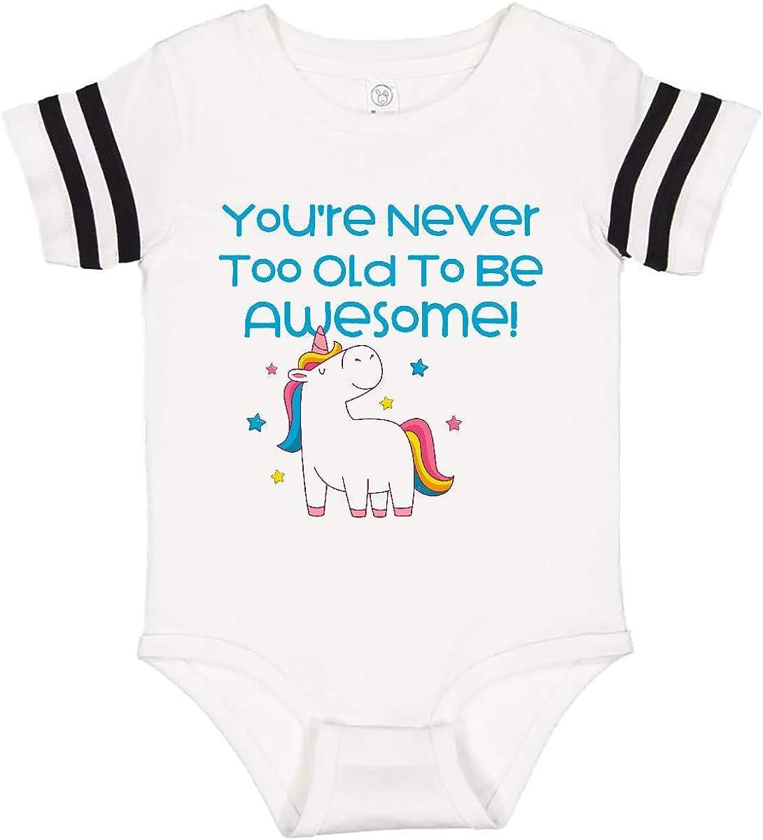inktastic Unicorn Awesome Infant Creeper