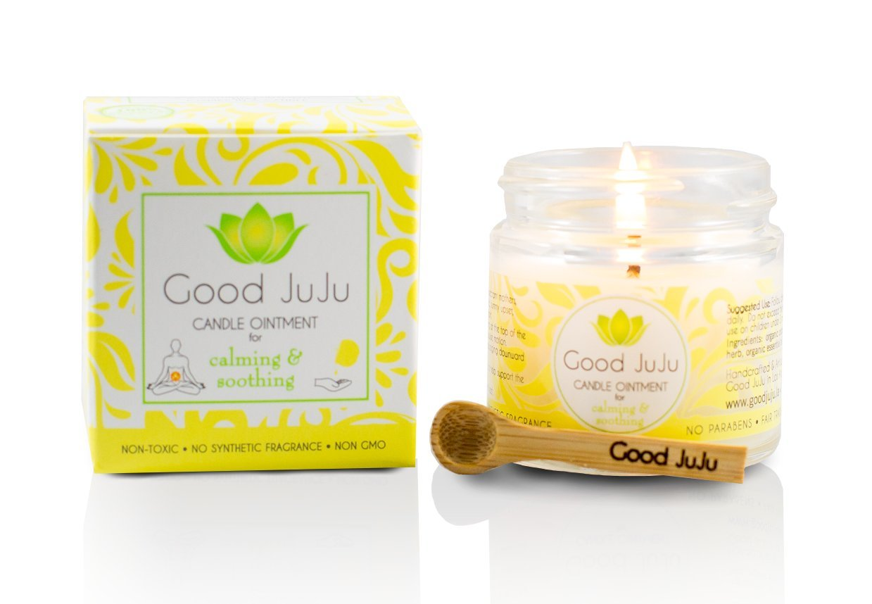 GOOD JUJU - Organic Stomach & Sleep Aid Massage Candle - 1 oz