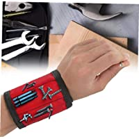 Aisoway Magnética Muñequera Ajustable a Mano Wraps Tornillos