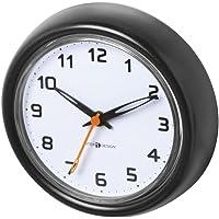 InterDesign Forma - Reloj con ventosas para Cuarto