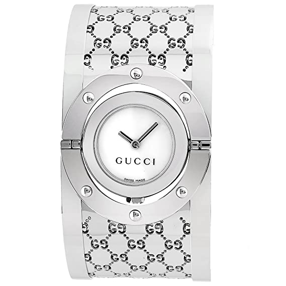 82d6d914236 GUCCI 112 THE TWIRL LADIES WATCH YA112413  Gucci  Amazon.co.uk  Clothing