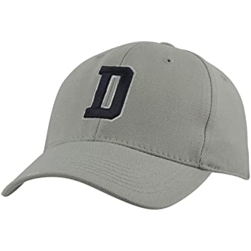 new arrival e245f 0a99b ... denmark dallas cowboys mens d logo fitted hat gray 756e7 e004c