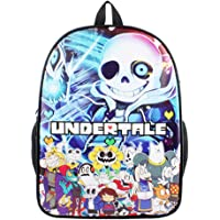 Undertale Game Anime Legends Sans Canvas Backpack Travel Student Backpack