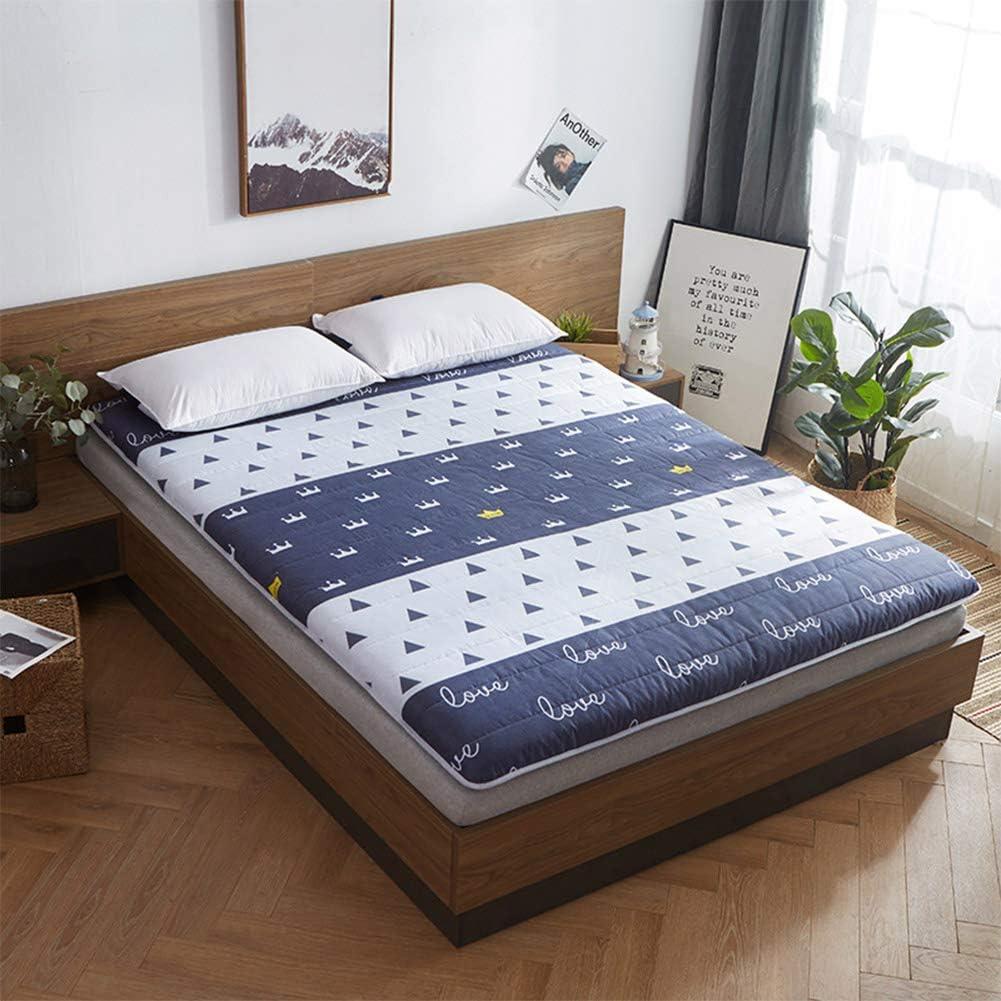 GEDHH Alfombrilla de Tatami, futón japonés Tradicional Cama ...