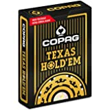 Baralho de Poker Texas Hold'em Dourado, Copag