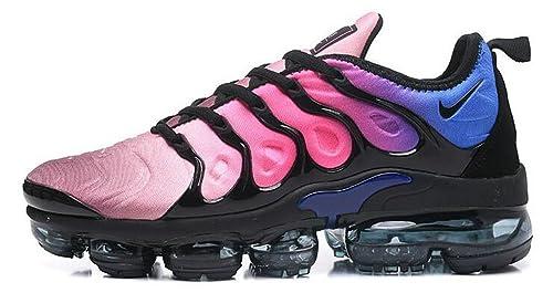 Air Vapormax Plus TN Peach Blossom Blue Black Zapatillas de Running para Hombre Mujer: Amazon.es: Zapatos y complementos