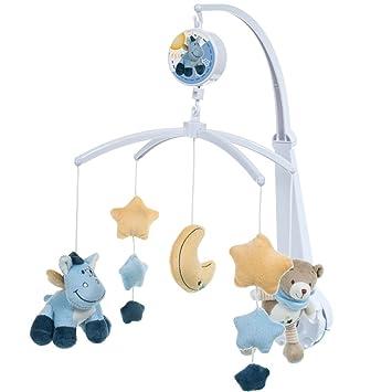 Musikmobile Baby Mobile Spieluhr Musikuhr Einschlafhilfe für Babybett Kinderbett