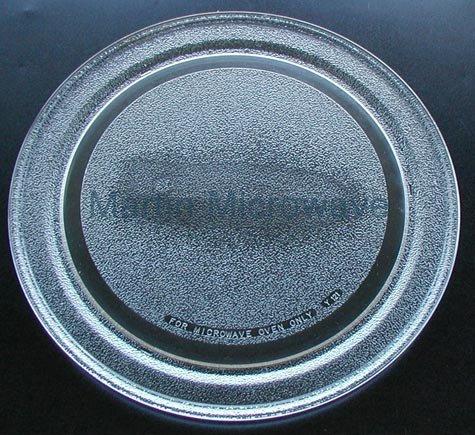 "KitchenAid Microwave Glass Turntable Tray / Plate 14 1/8"" 81"