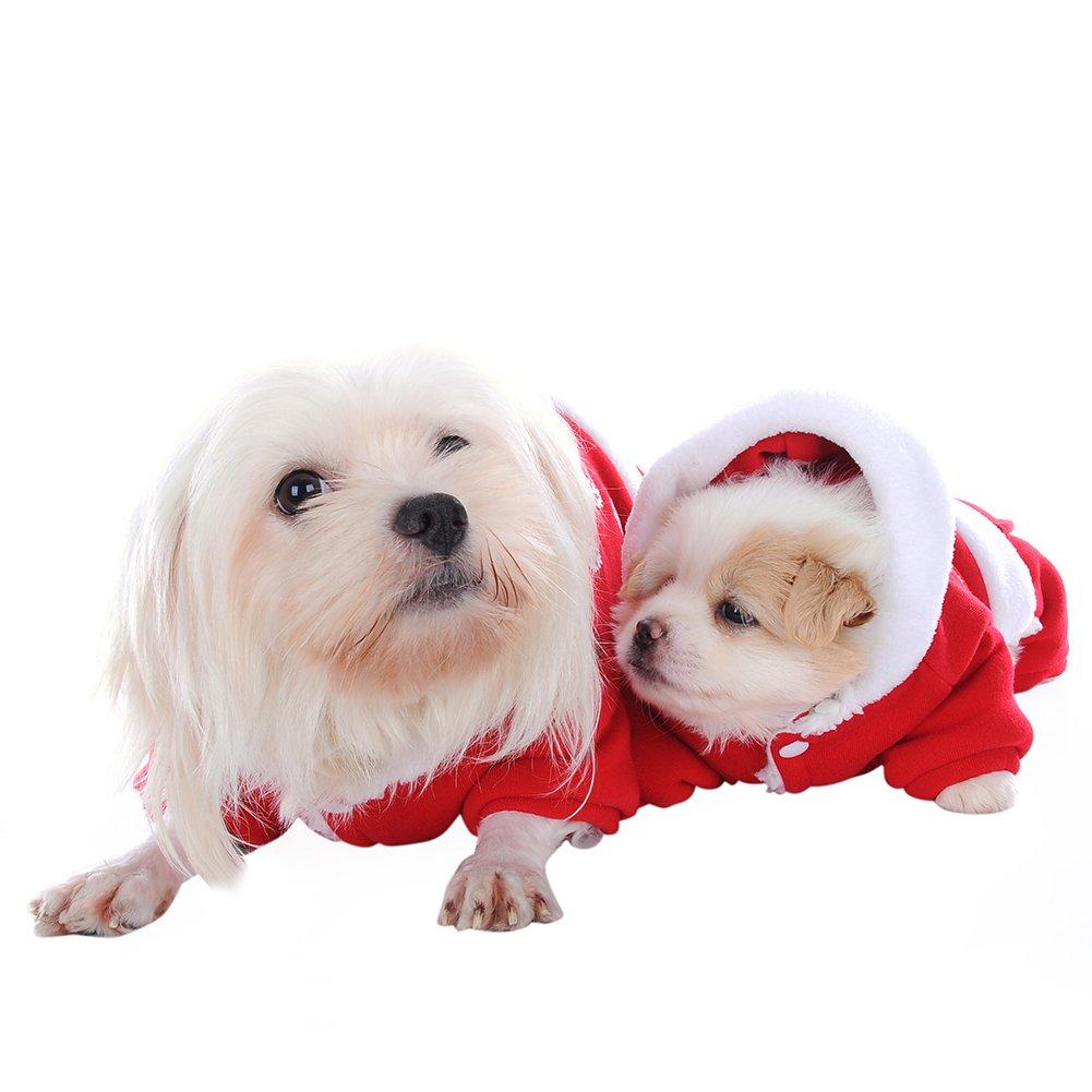 foerteng mascota disfraces de Navidad perro ropa traje de ...