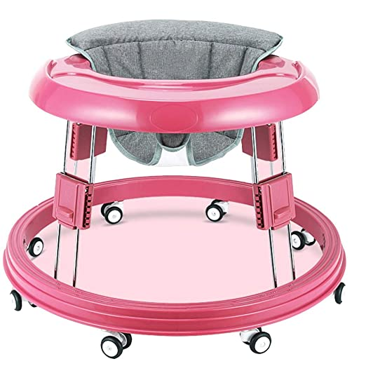 Axdwfd Andador Caminante for bebés, 6/7-18 Meses PP + Tela de Lino ...