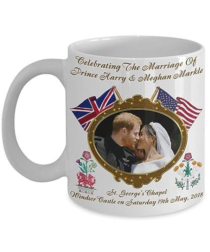 Prince Mug Royal Harry Coffee Rose Markle Dragonamp; And Wedding Commemorative Meghan uTJ35KlcF1