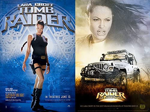Lara Croft Tomb Raider 2001 U S Mini Poster Set Of 2 At Amazon S