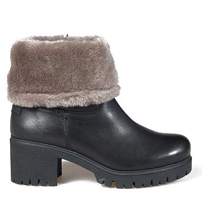 f5d07905112e7b PANAMA JACK Damen Stiefeletten PIOLA Igloo B5 schwarz 361429  Amazon.de   Schuhe   Handtaschen