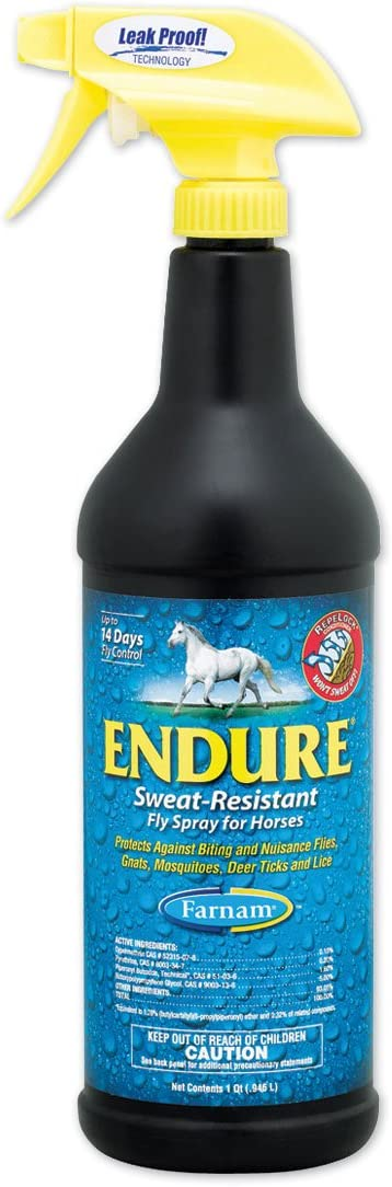 Endure 946mls caballos. Insecticida repelente.