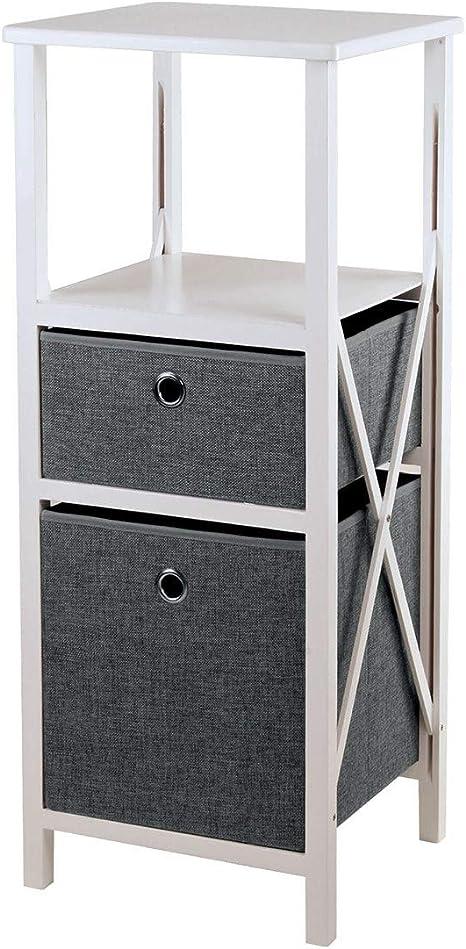 Commode 2 tiroirs Pliable H85cm