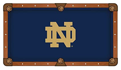 Charmant Notre Dame (ND) Pool Table Cloth