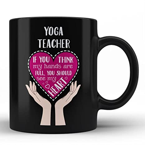 Amazon.com: Mejor profesor – profesor taza de Yoga Yoga ...