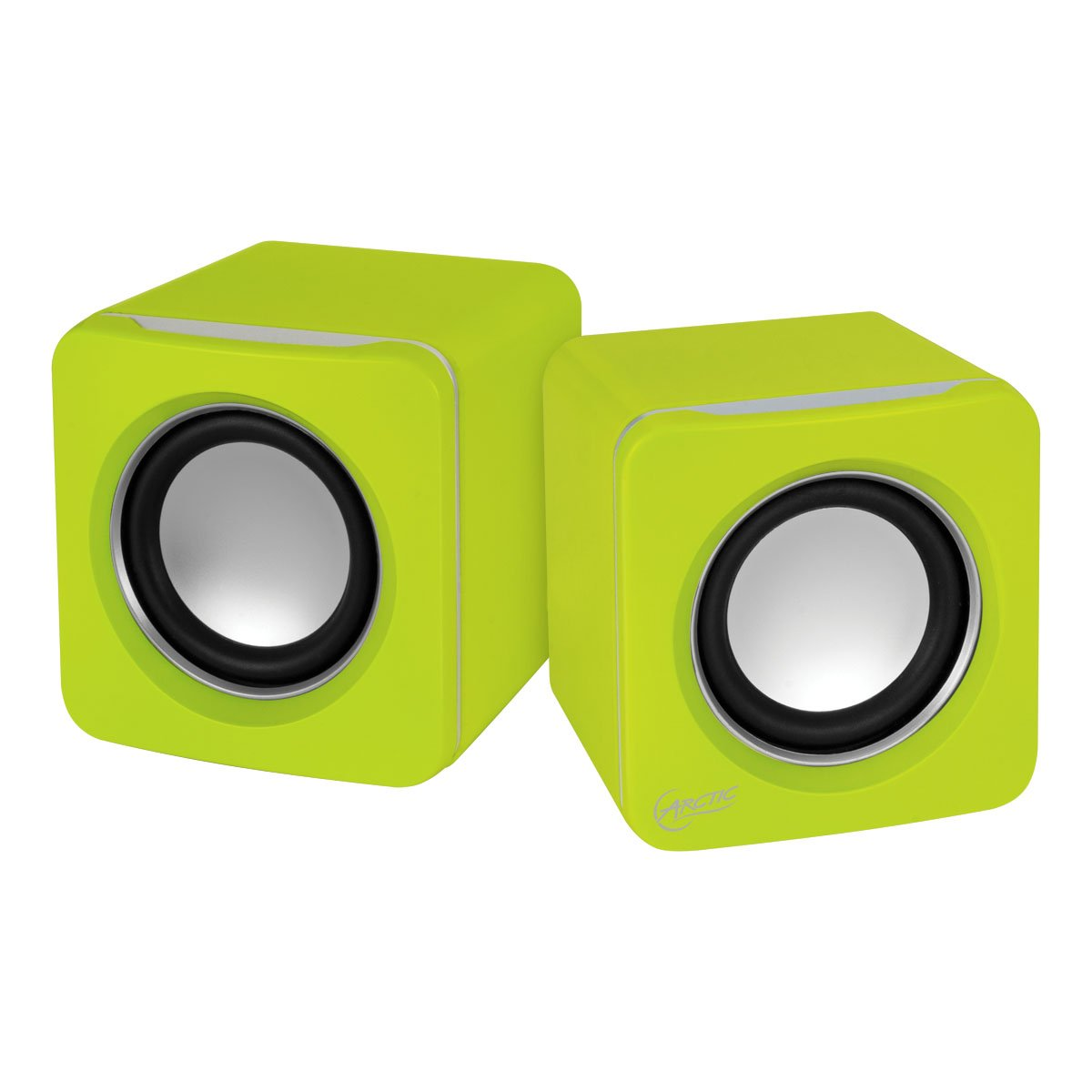 Arctic S111 - Altavoces para PC (USB, 2.0, 3.5 mm) color amarillo S111-Lime