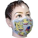 Filtra Disposable Children's/Ladies Air Pollution Cartoon Face Mask with Activated Carbon 50 Pcs (TT-4TOONEM-AC-145)