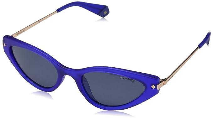 Polaroid PLD 4074/S Gafas de Sol, Multicolor (Blue), 53 para ...
