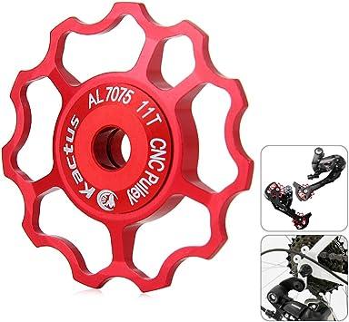 egodeals 11T CNC rueda Jockey cambio trasero polea, aluminio ...