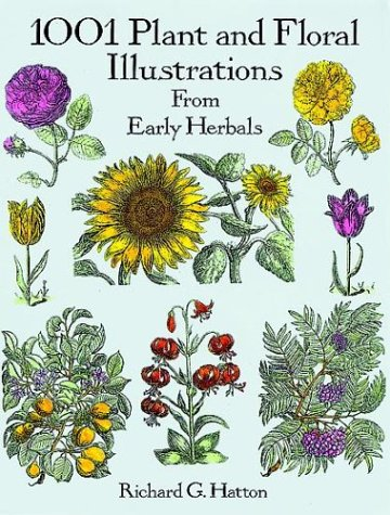 1001 Plant and Floral Illustrations from Early Herbals (Anglais) Broché – 25 avril 1996 Richard G. Hatton Dover Publications Inc. 0486290743 Art