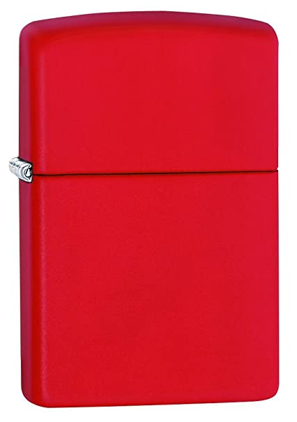 4b2c09139b Buy Zippo Lighter (Red Matte) Online at Low Prices in India - Amazon.in
