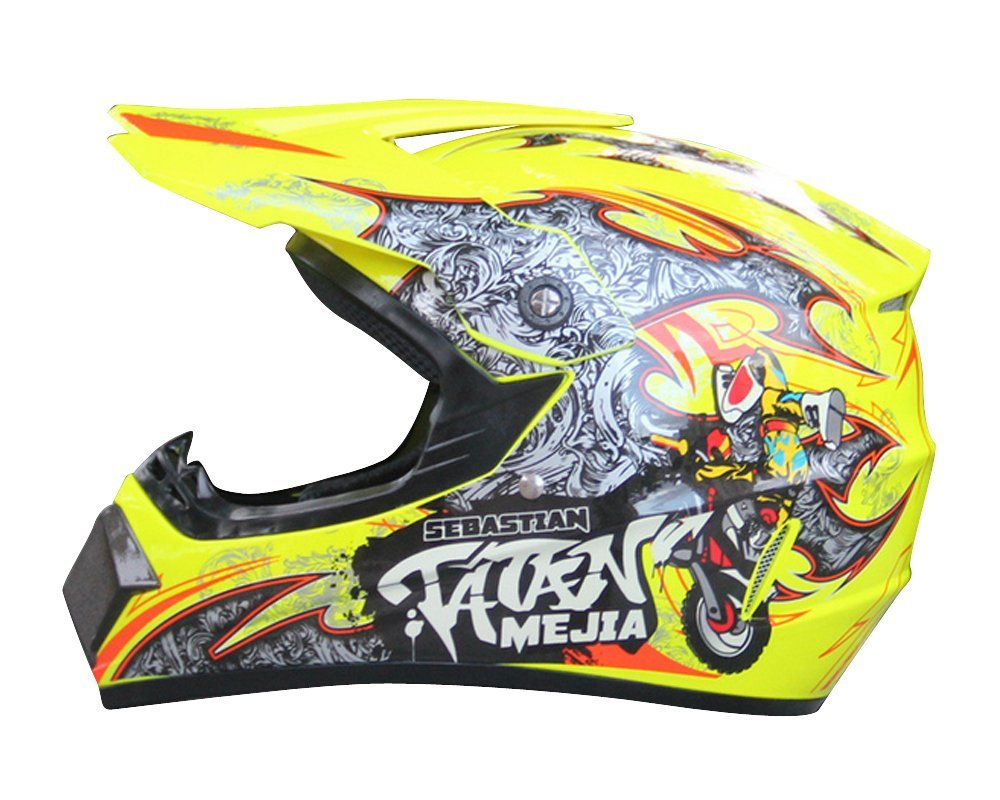 Amazon.com : SHINA New AHP Motocross Helmet Motocicleta Casco Capacetes Motorcycle Helmet : Sports & Outdoors