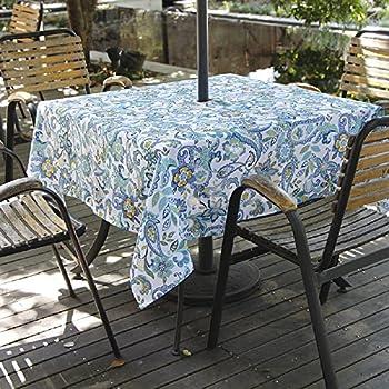 Amazon Com Dii Spring Amp Summer Outdoor Tablecloth Spill