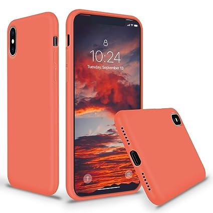 Amazon.com: Surphy - Carcasa de silicona para iPhone Xs Max ...