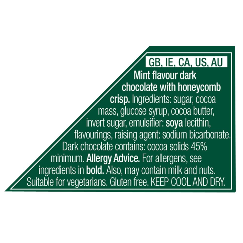 Amazon.com : Elizabeth Shaw Mint Crisp Dark Chocolate (175g) - Pack of 2 : Grocery & Gourmet Food