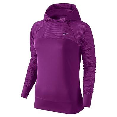 Amazon.com: New Nike Women's Run Fast Hoodie Cosmic Purple/Reflective  Silver Small: Shoes