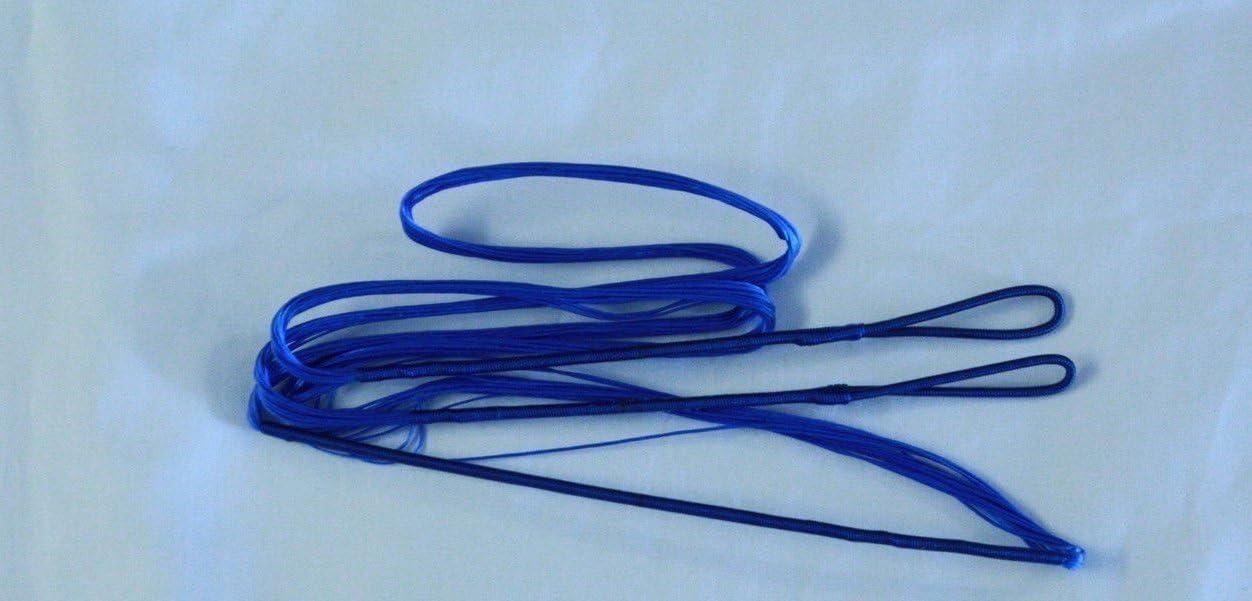 "60X Custom Strings 52/"" Fast Flight Blue Recurve Bowstrings Bow String"