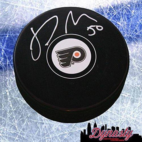 Samuel Morin Flyers Autographed Hockey Puck