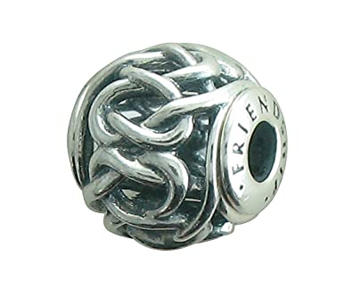b4d8c3b20205e Pandora FRIENDSHIP ESSENCE COLLECTION charm in Silver - 796057