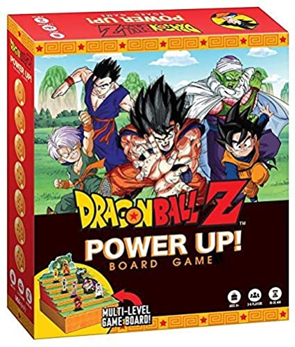 Amazoncom Dragon Ball Z Power Up Board Game Based On The Popular