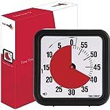 Time-Timer Medium 18cm, Uhr für Zeitverwaltung, Zeitmanagement geeignet für Büro, Klassenzimmer, zu Hause, Kinder mit (Kinder mit ADHS, ADD, Autismus, Asperger-Syndrom) inkl. 1x Haftnotiz-Zettel)