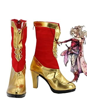 Fantasy Chaussures Branford Final Terra Dissidia Bottes cosplay Ff6 xqfwEE