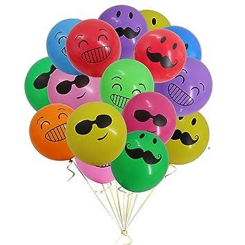 Mattelsen Globos Emoji, Emoticonos globo Lunares Balloons ...