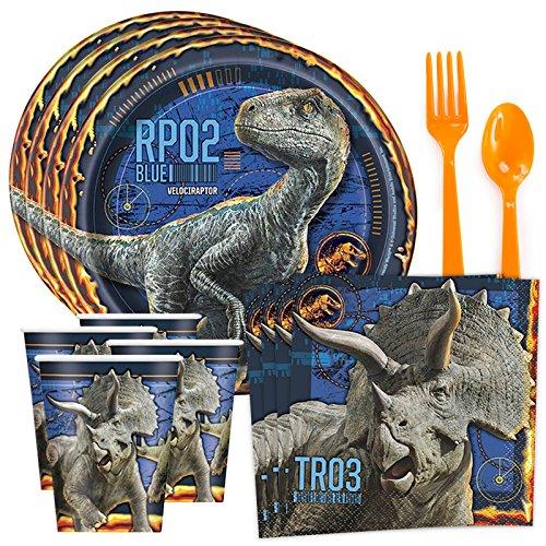 Price comparison product image Costume SuperCenter Jurassic World: Fallen Kingdom Standard Tableware Kit (Serves 8)