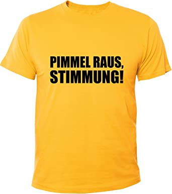 Mister Merchandise Cooles Herren T-Shirt Pimmel raus, Stimmung!: Amazon.de:  Bekleidung